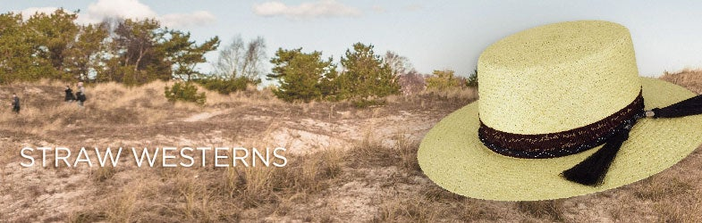 Straw Western Hats