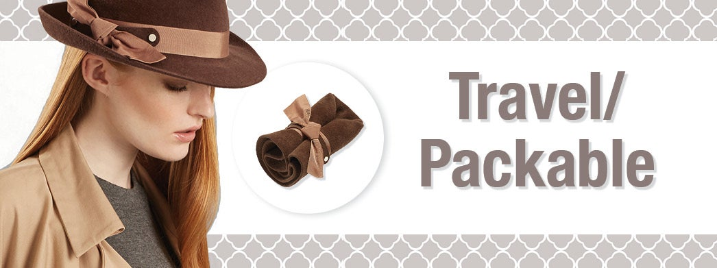 Travel & Packable Hats