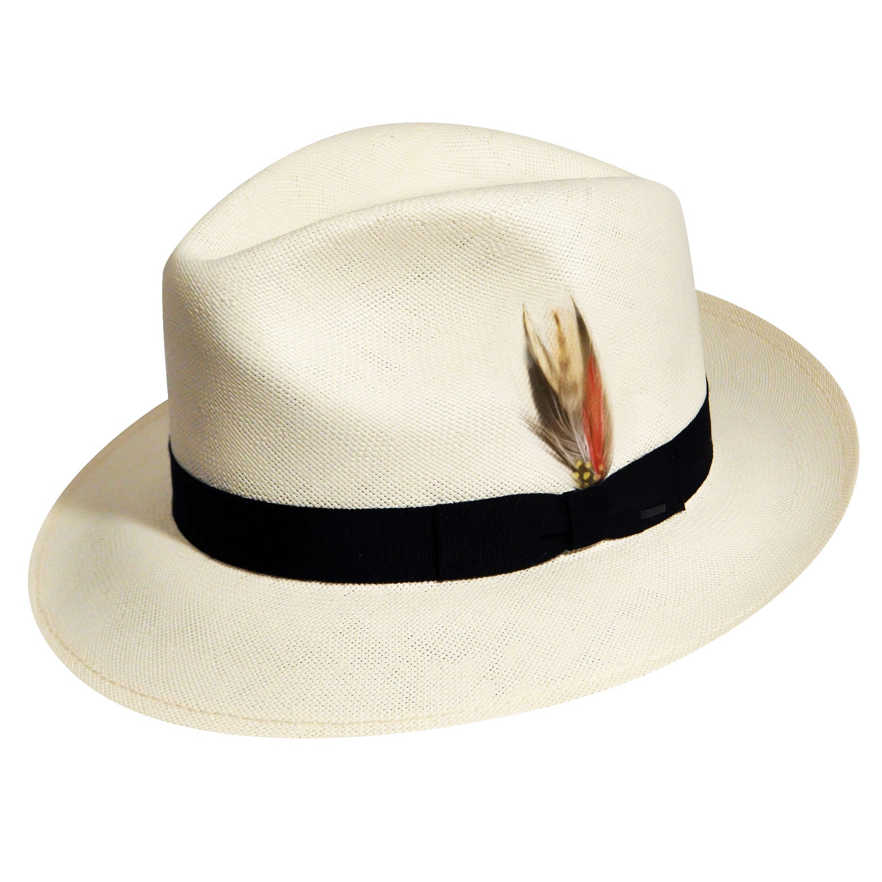 Rockabilly Men's Clothing Crase Litestrawreg Fedora $150.00 AT vintagedancer.com