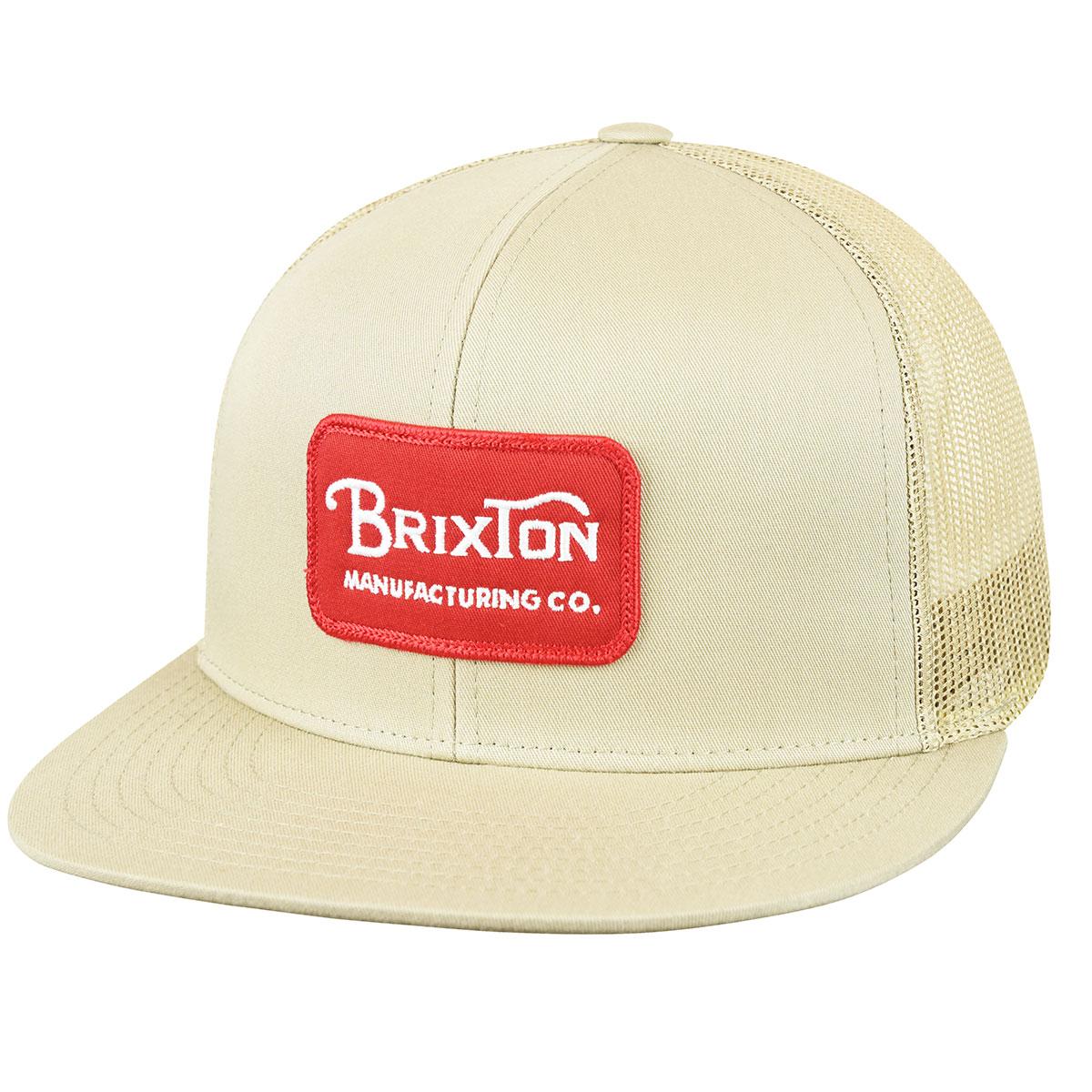 Brixton Grade Mesh Cap in Khaki