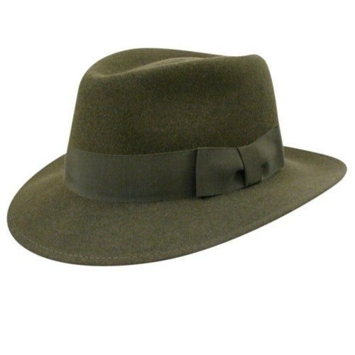 1950s Mens Hats | 50s Vintage Men's Hats Robin Litefelt reg Fedora $105.00 AT vintagedancer.com