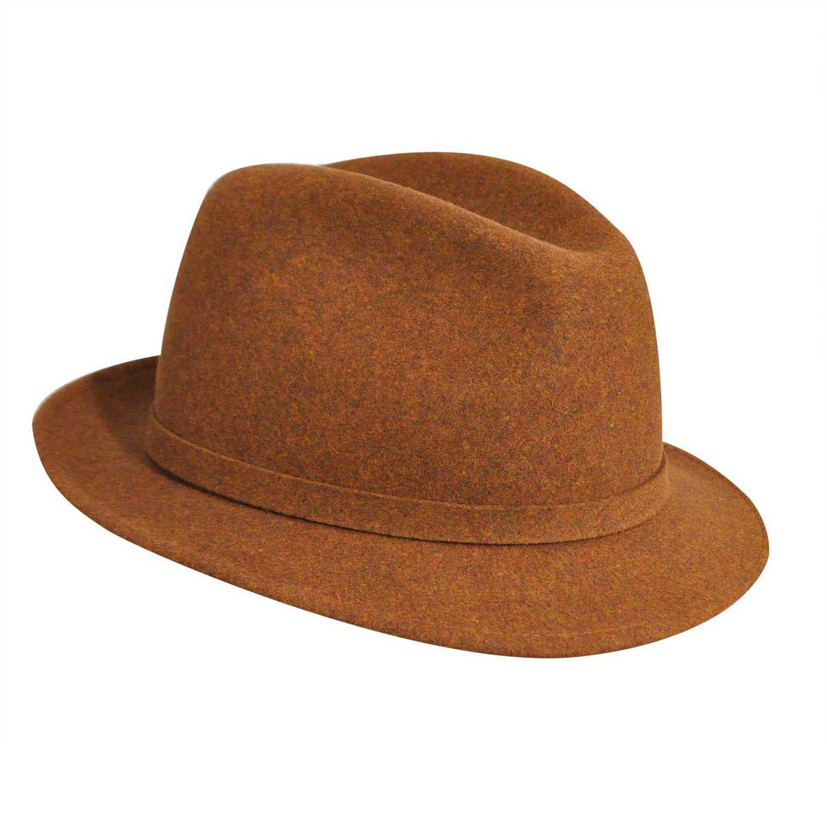 06502d9b06f Pantropic Mens Litefeltâ Charlie Stingy Brim Fedora Hat 750660018227 ...