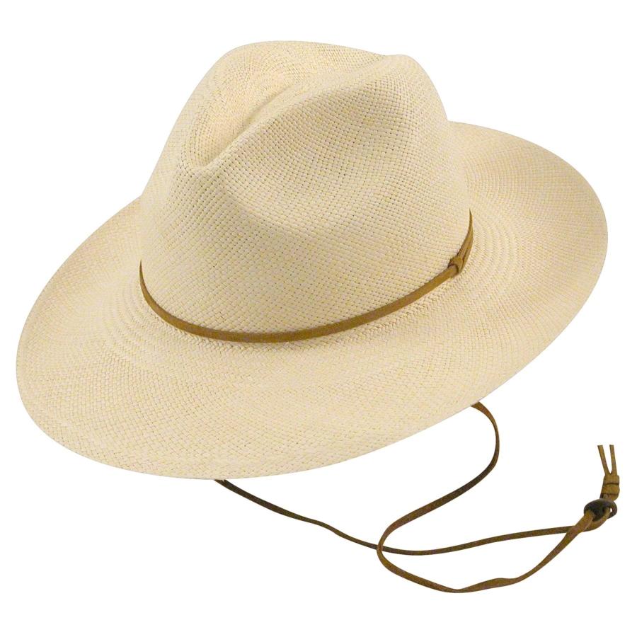 Pantropic Fedora Explorer Straw Hat in Natural