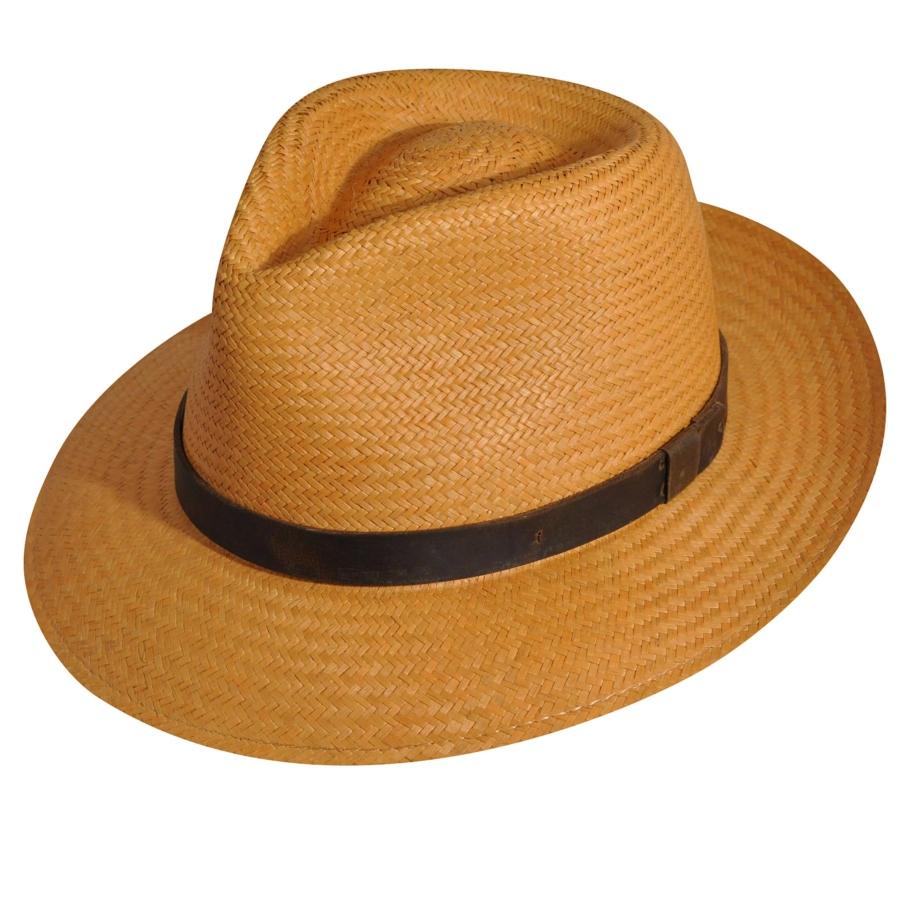 Men's Vintage Style Hats, Retro Hats New Hope Stroller Fedora - MustardS $72.00 AT vintagedancer.com