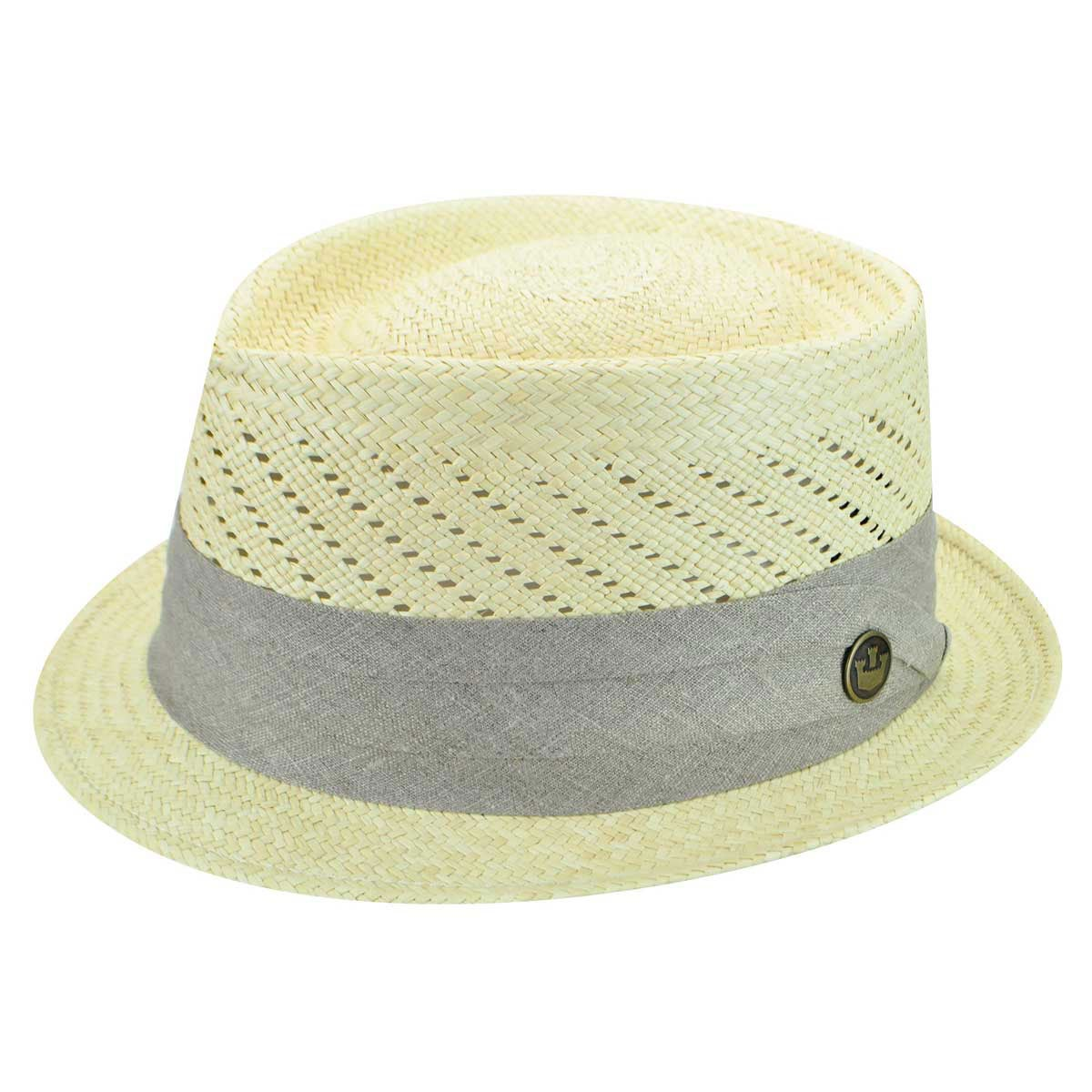 1960s -1970s Men's Clothing Garzon Guillermo Panama Trilby $180.00 AT vintagedancer.com