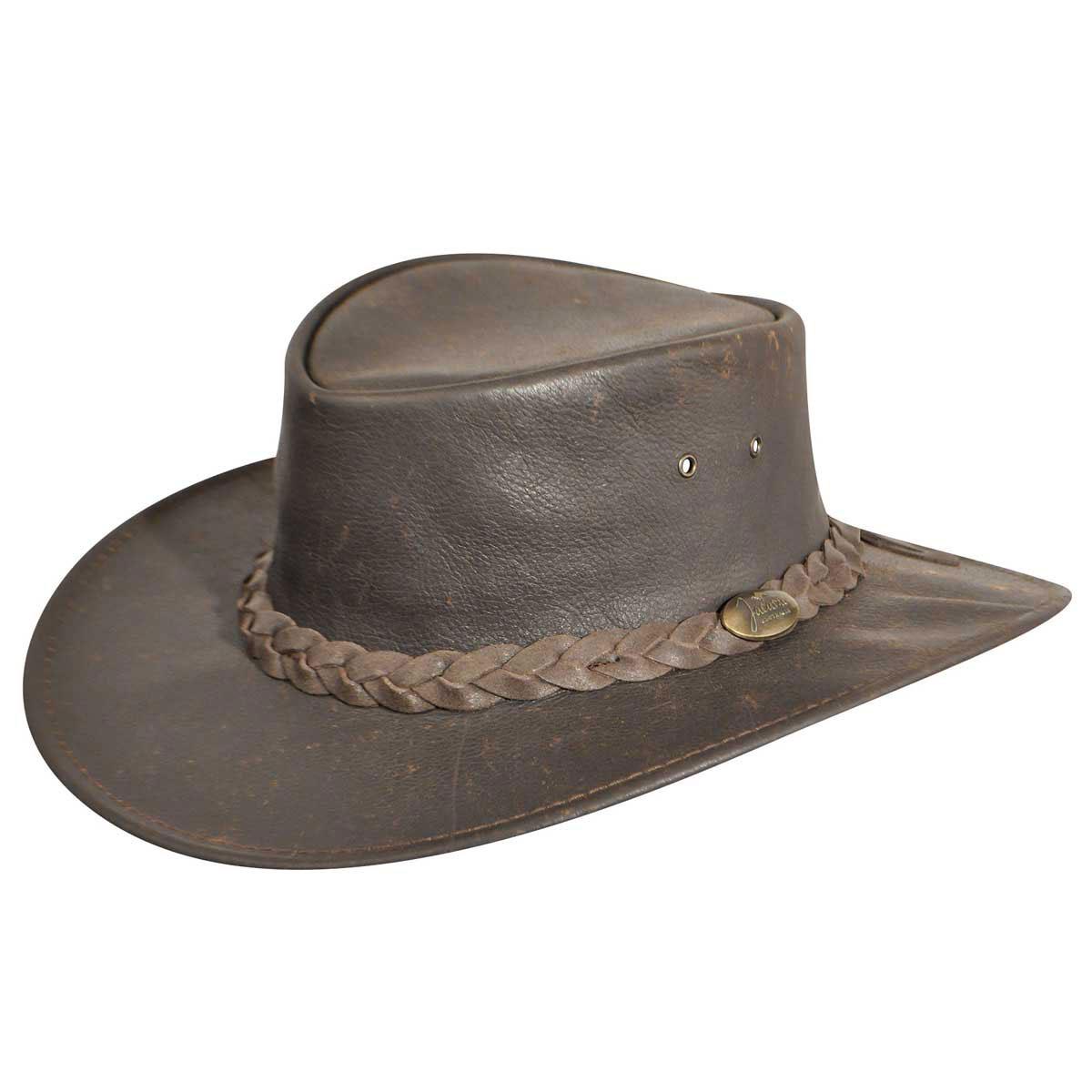 Jacaru Explorer Outback Hat in Stonewash