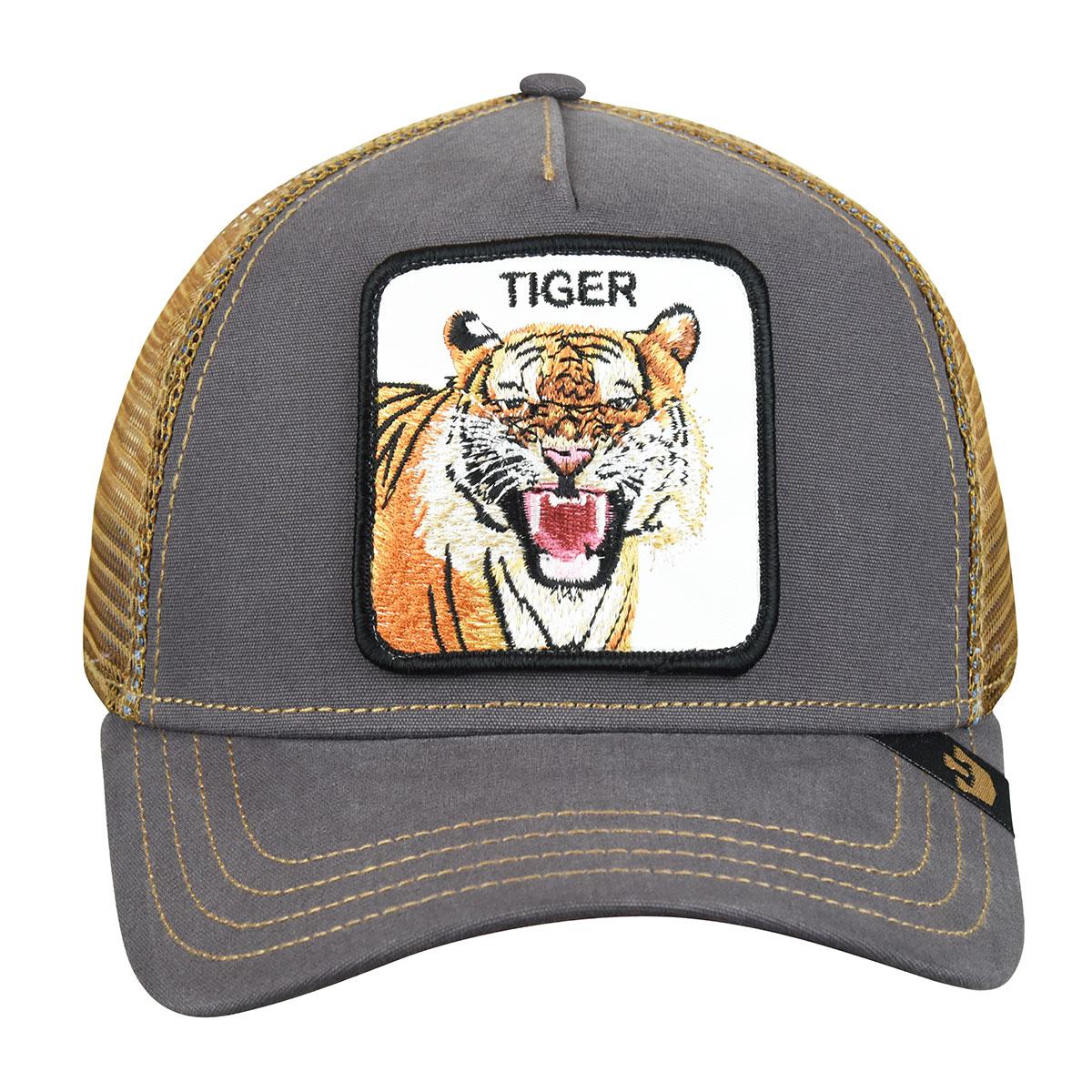 Goorin Bros. Eye of the Tiger Trucker in Brown