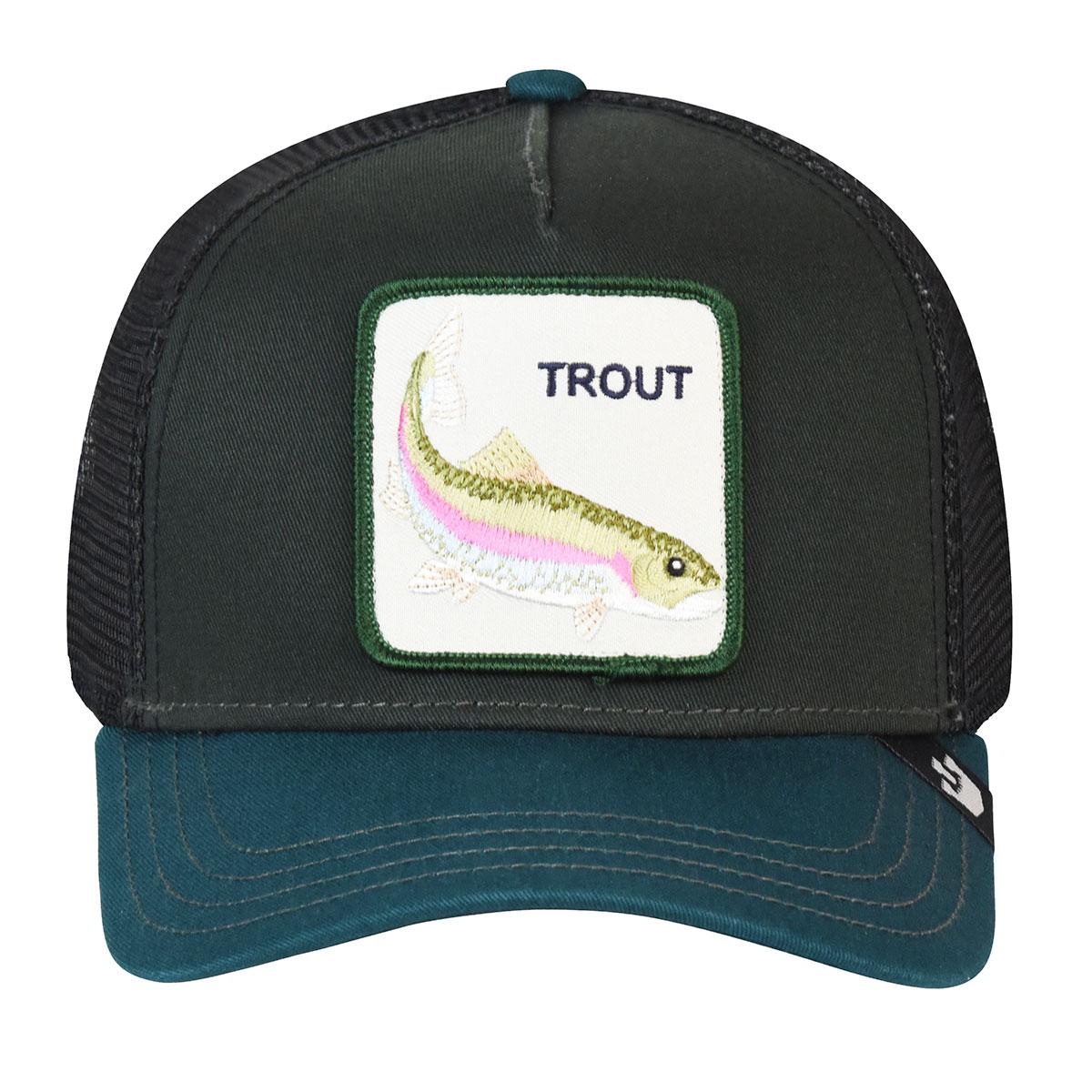 Goorin Bros. Trout Trucker in Black