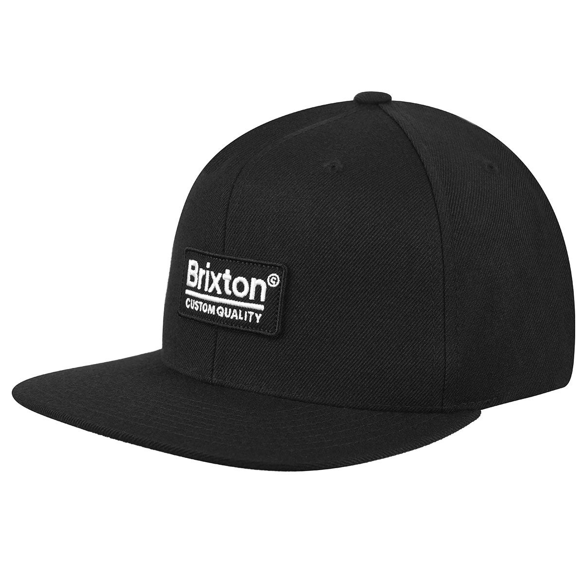 Brixton Palmer II MP Snapback in Black