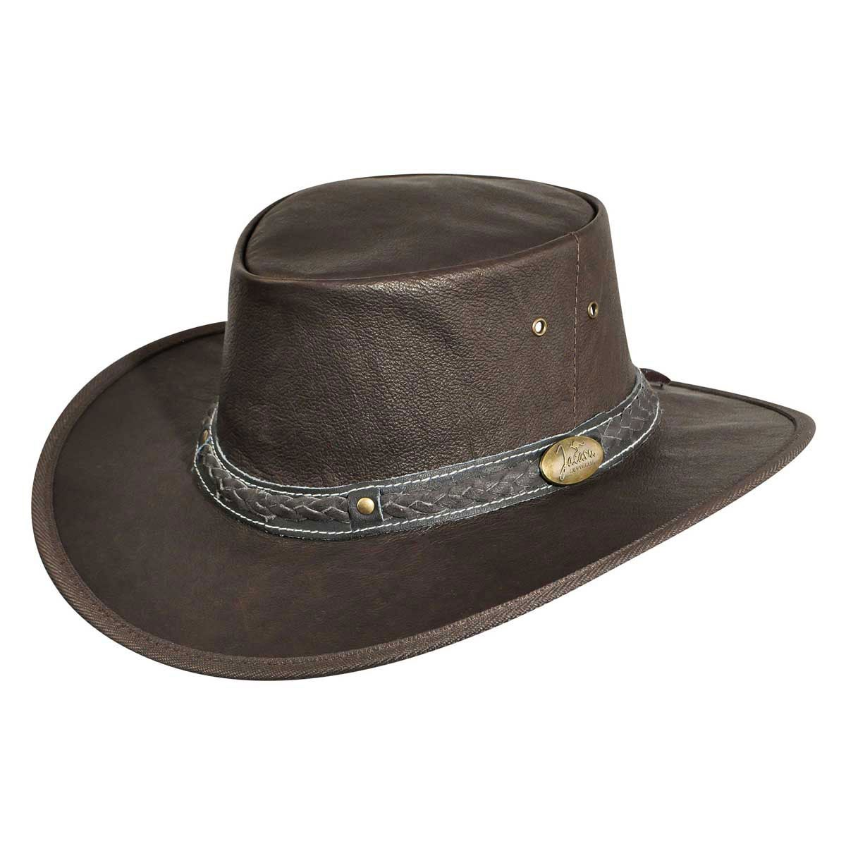 Jacaru Roo Nomad Traveler Outback Hat in Brown