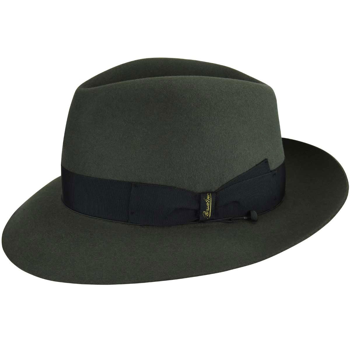 1920s Mens Hats – 8 Popular Styles Bellini Fedora $430.00 AT vintagedancer.com