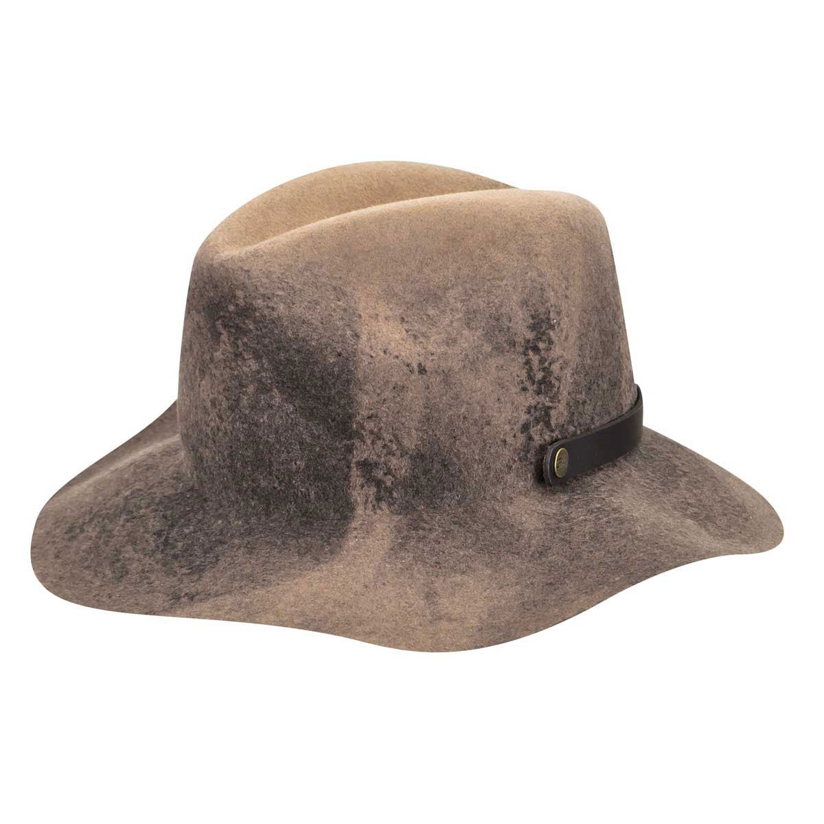 Bailey of Hollywood Ashmore Fedora in Taupe Swirl