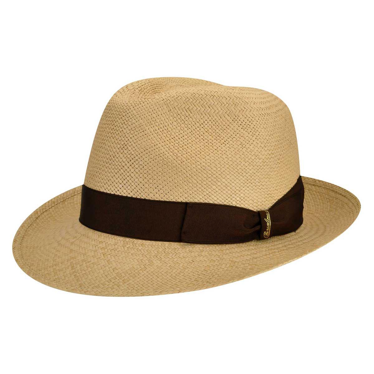 1950's Mens Hats Quito Panama Medium Brim Fedora $262.00 AT vintagedancer.com