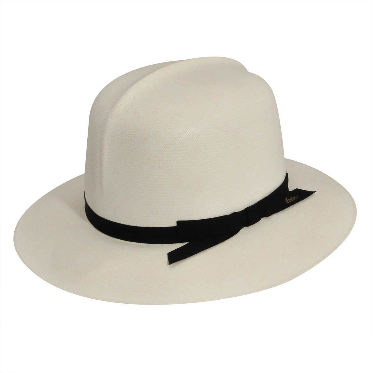 Mens 1920s Style Hats and Caps Montecristi Panama Fedora $617.00 AT vintagedancer.com