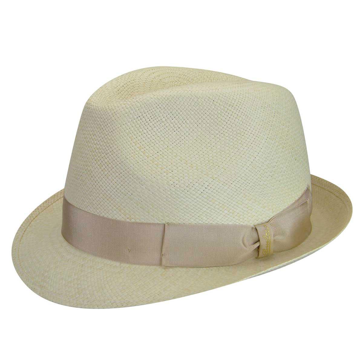Panama Colorato Stingy Brim Fedora $270.00 AT vintagedancer.com