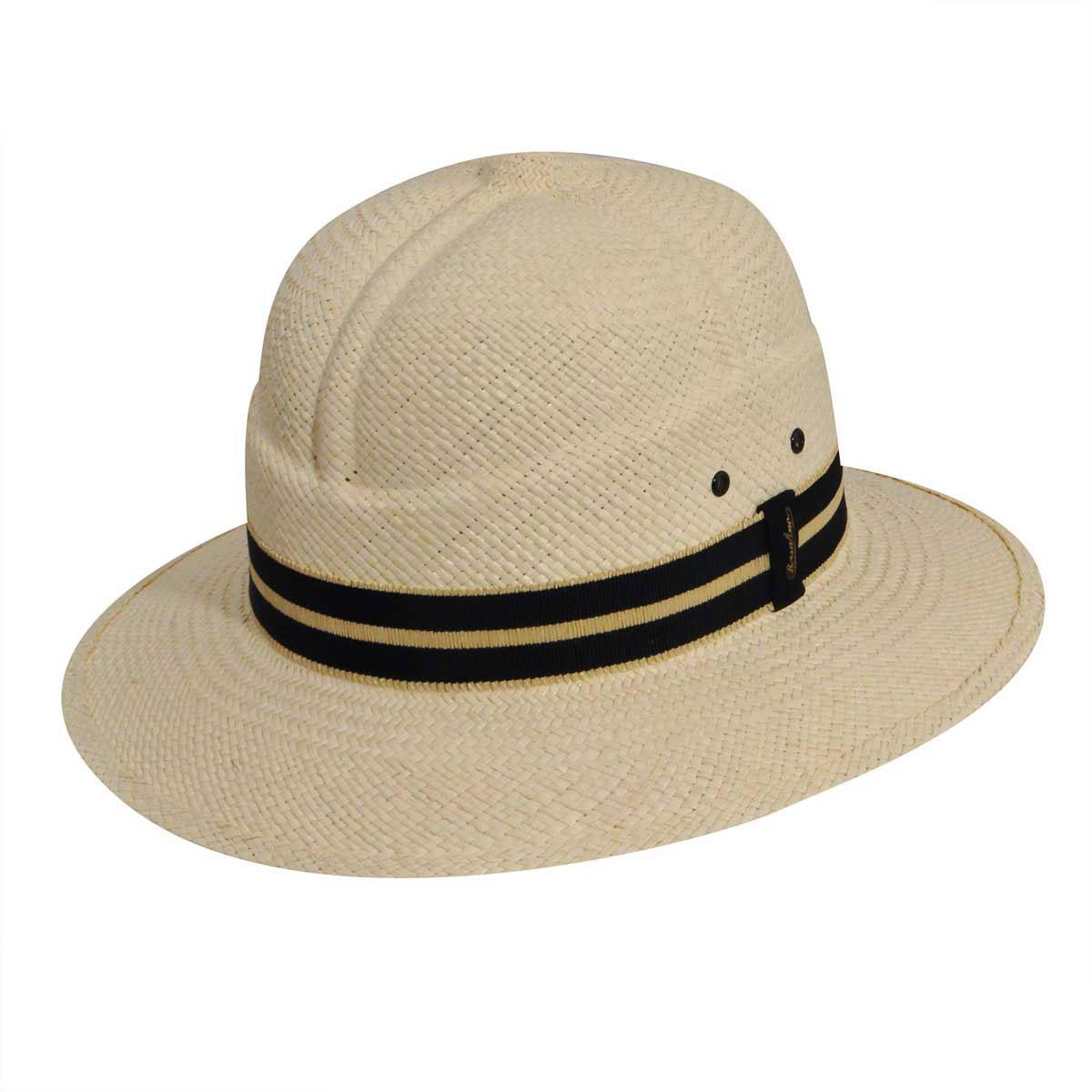Steampunk Hats | Top Hats | Bowler Quito Panama Colonial Fedora $310.00 AT vintagedancer.com