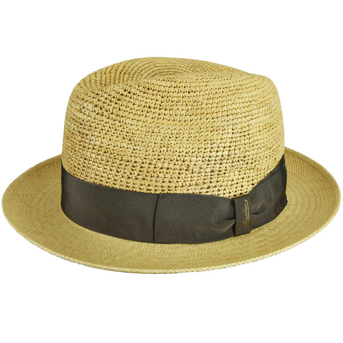 1940s Mens Hat Styles and History 141080 Panama Straw Fedora $285.00 AT vintagedancer.com