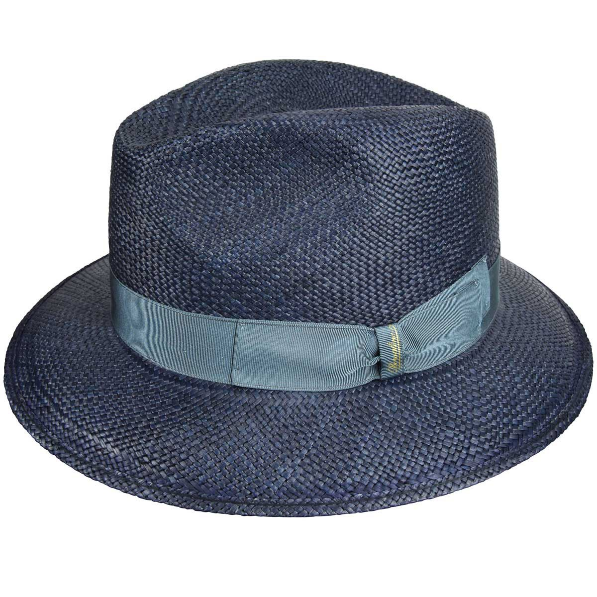 1930s Style Mens Hats 141086 Quito Panama Tesa Safari Fedora $268.00 AT vintagedancer.com