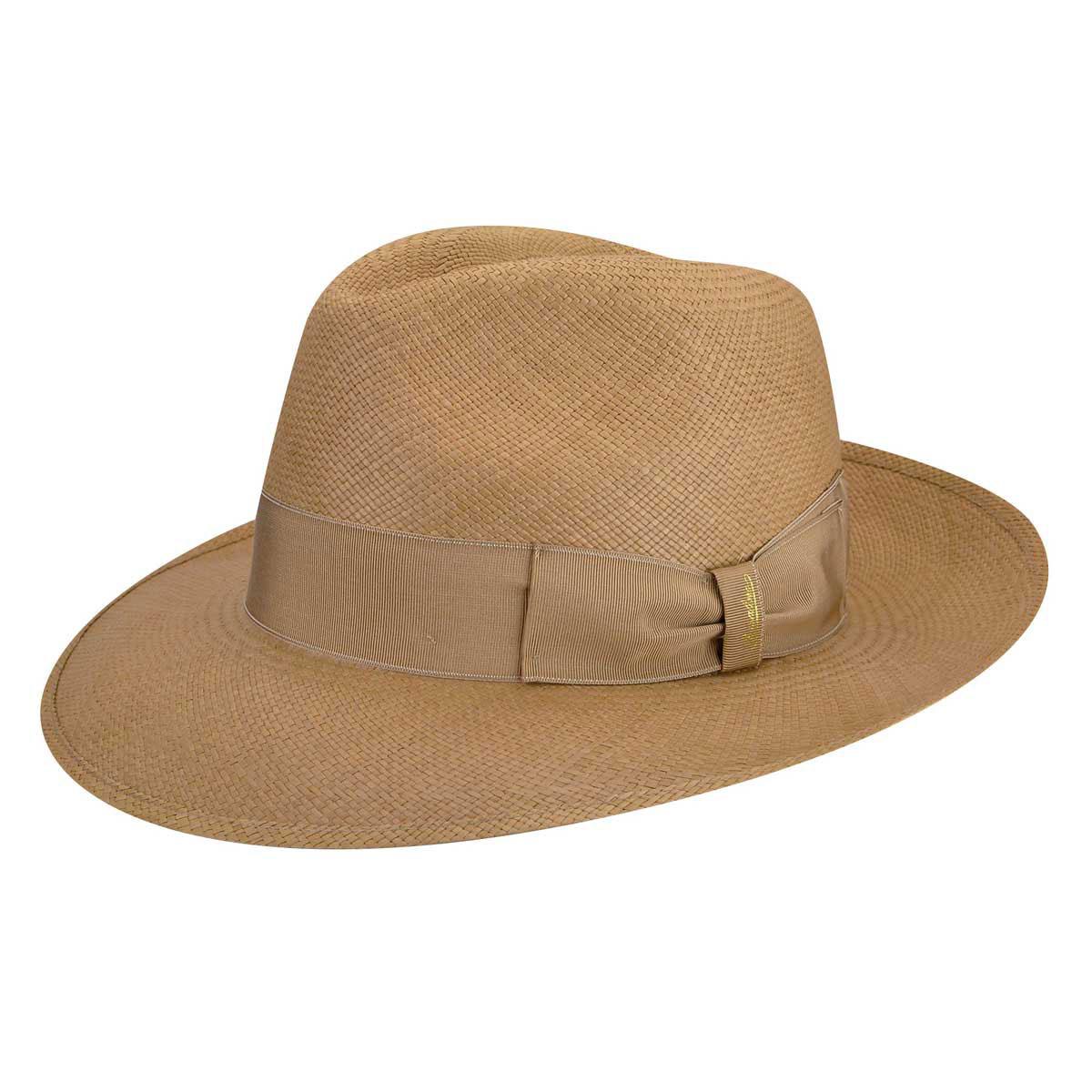 1940s Mens Hat Styles and History 141088 Quito Panama Large Brim Fedora $268.00 AT vintagedancer.com