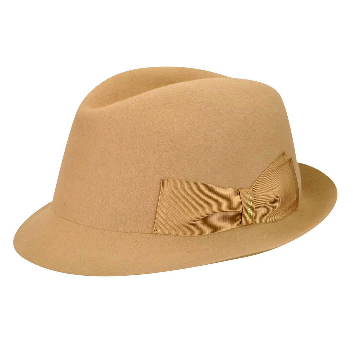 1940s Hats History 160158 Marengo Fur Felt Fedora $250.00 AT vintagedancer.com