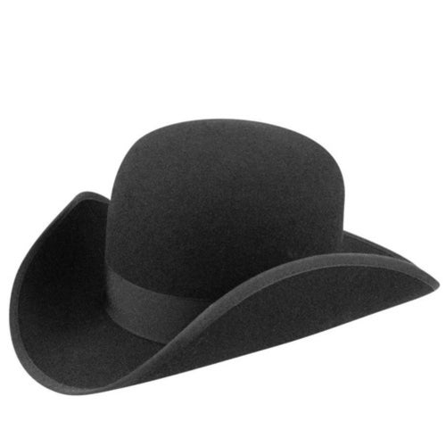 Steampunk Hats | Top Hats | Bowler 1860s Bollman Collection Wide Awake $100.00 AT vintagedancer.com