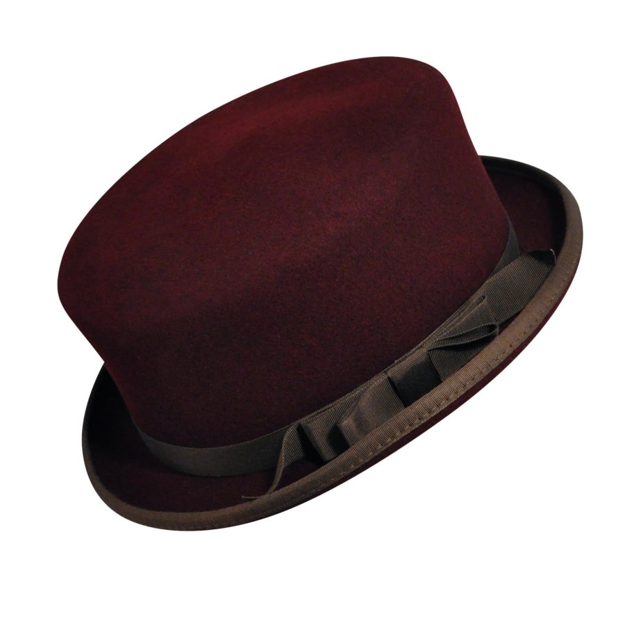 Steampunk Hats | Top Hats | Bowler 1880s Bollman Heritage Collection Equestrian $100.00 AT vintagedancer.com