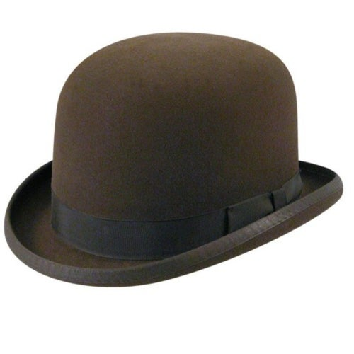 Victorian Men's Clothing, Fashion – 1840 to 1890s 1890s Bollman Collection Bowler $100.00 AT vintagedancer.com