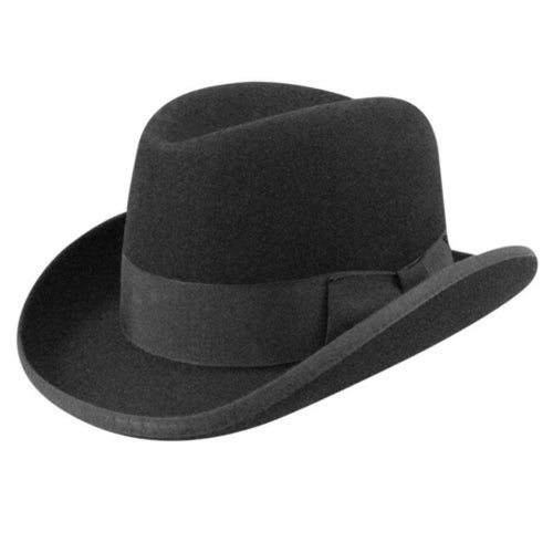 1940s Style Mens Hats 1900s Bollman Collection Homburg $100.00 AT vintagedancer.com