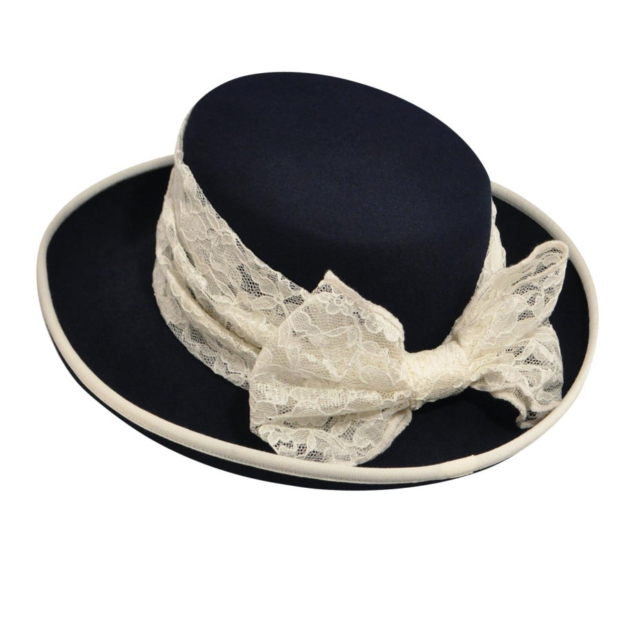 Tea Party Hats – Victorian to 1950s 1900s Bollman Heritage Collection Gibson Girl $100.00 AT vintagedancer.com