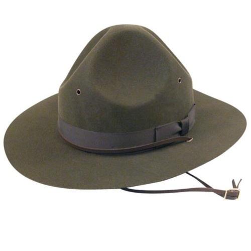 Men's Vintage Style Hats 1910s Bollman Collection Montana Peak $100.00 AT vintagedancer.com