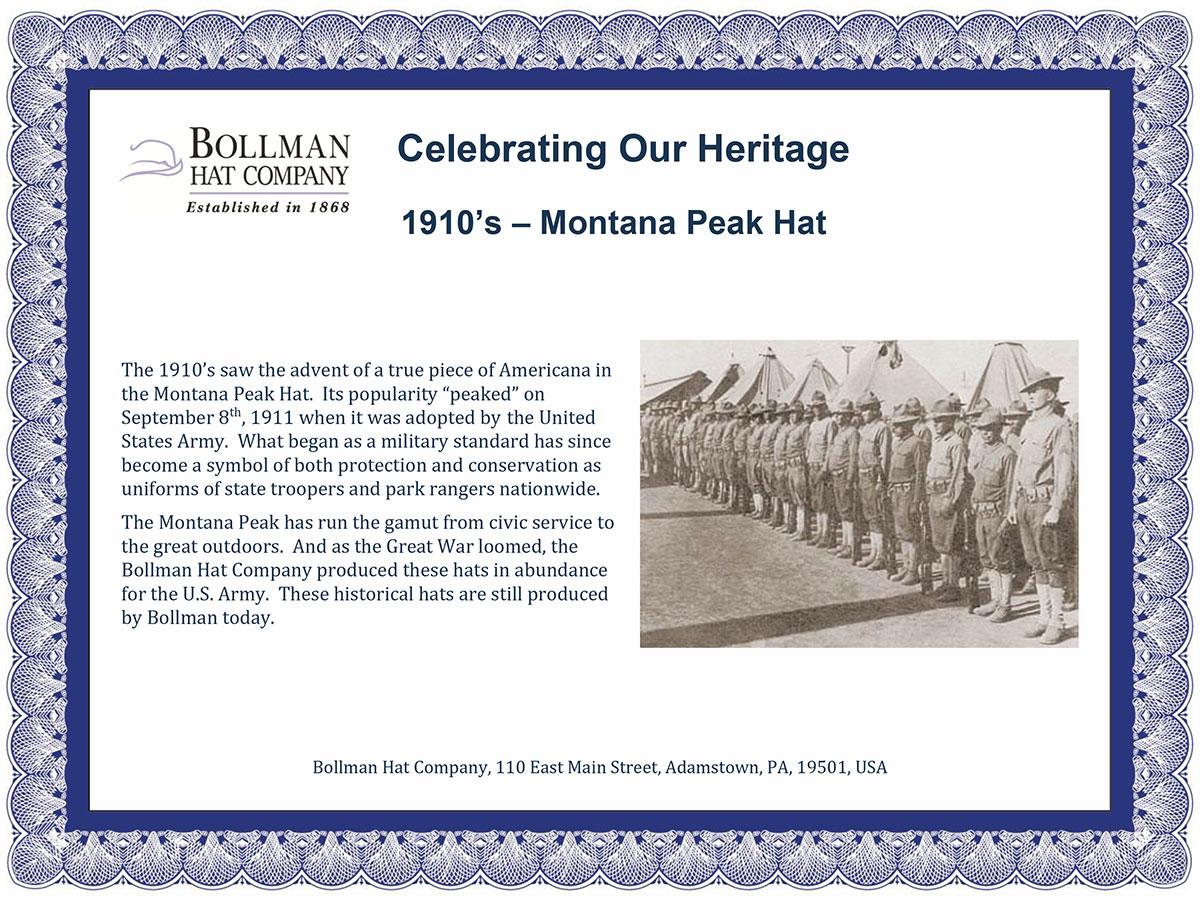 1910s Bollman Collection Montana Peak