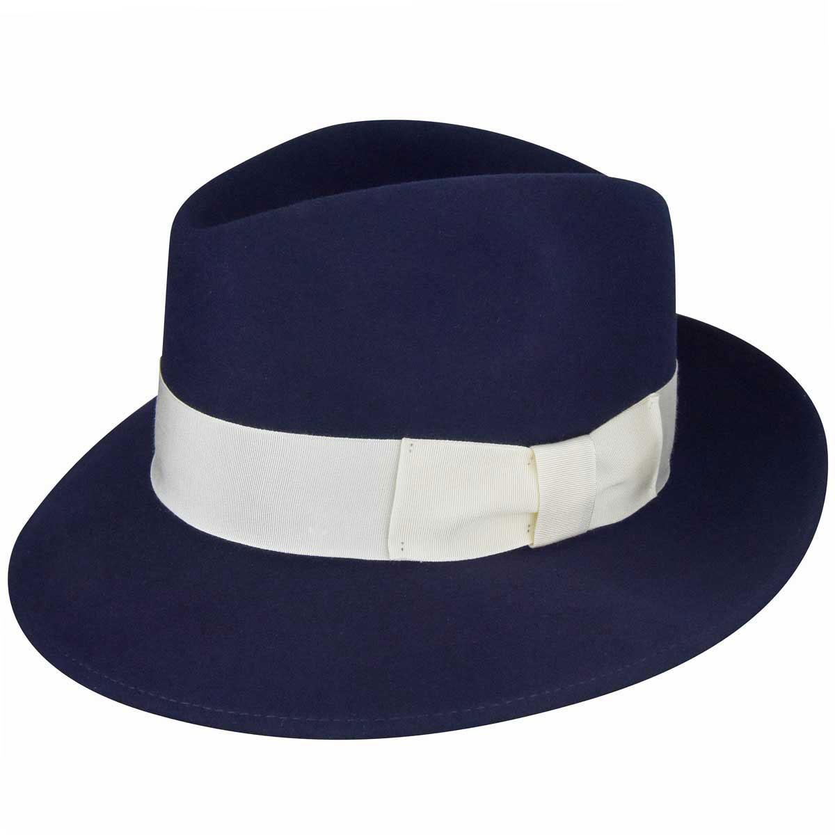 1920s Mens Hats – 8 Popular Styles 1920s Bollman Collection Fedora $100.00 AT vintagedancer.com