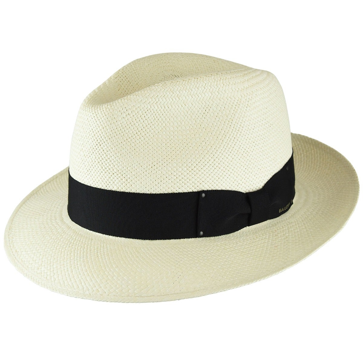1950s Mens Hats | 50s Vintage Men's Hats Thurman Panama Fedora $155.00 AT vintagedancer.com