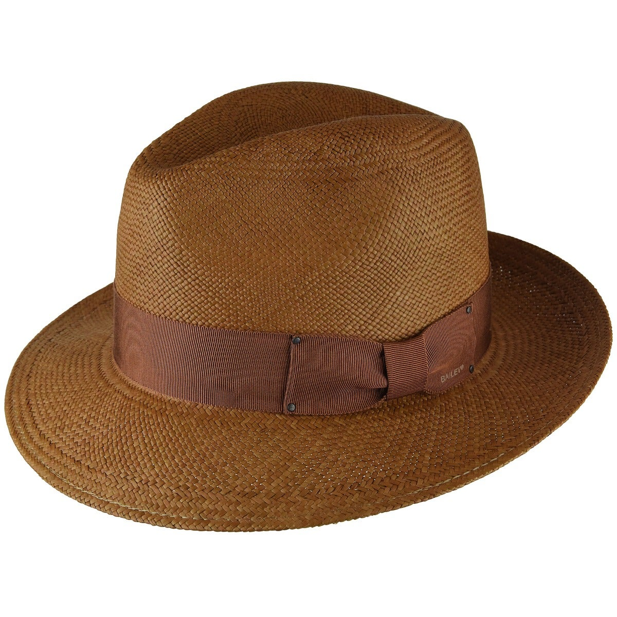 1940s Men's Hat Styles and History Thurman Panama Fedora $155.00 AT vintagedancer.com