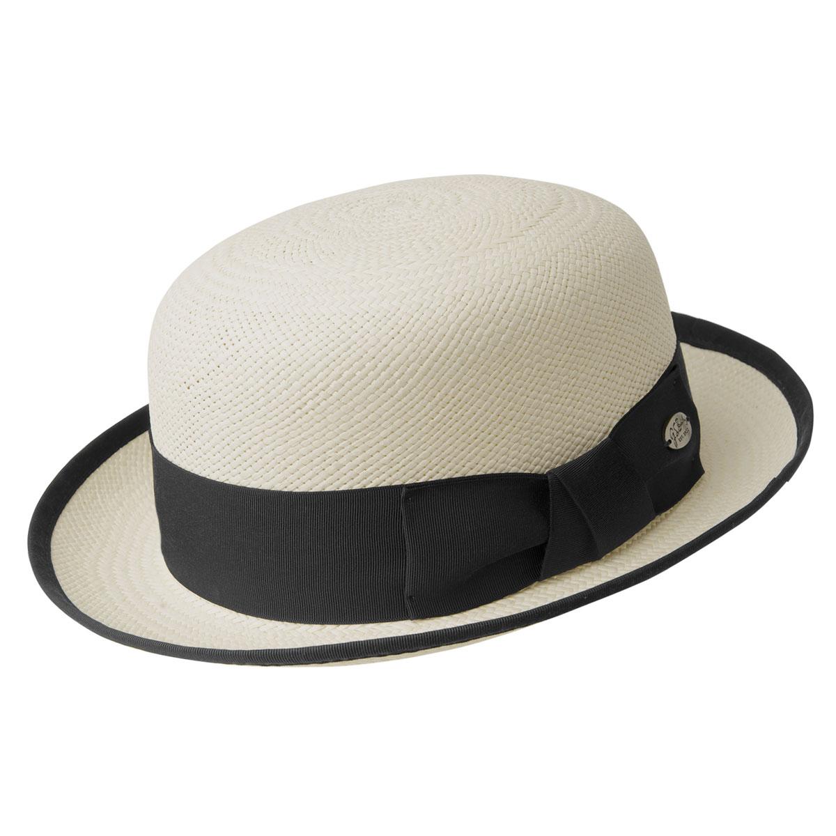 1920s Mens Hats & Caps | Gatsby, Peaky Blinders, Gangster Chaplin Panama Bowler $175.00 AT vintagedancer.com