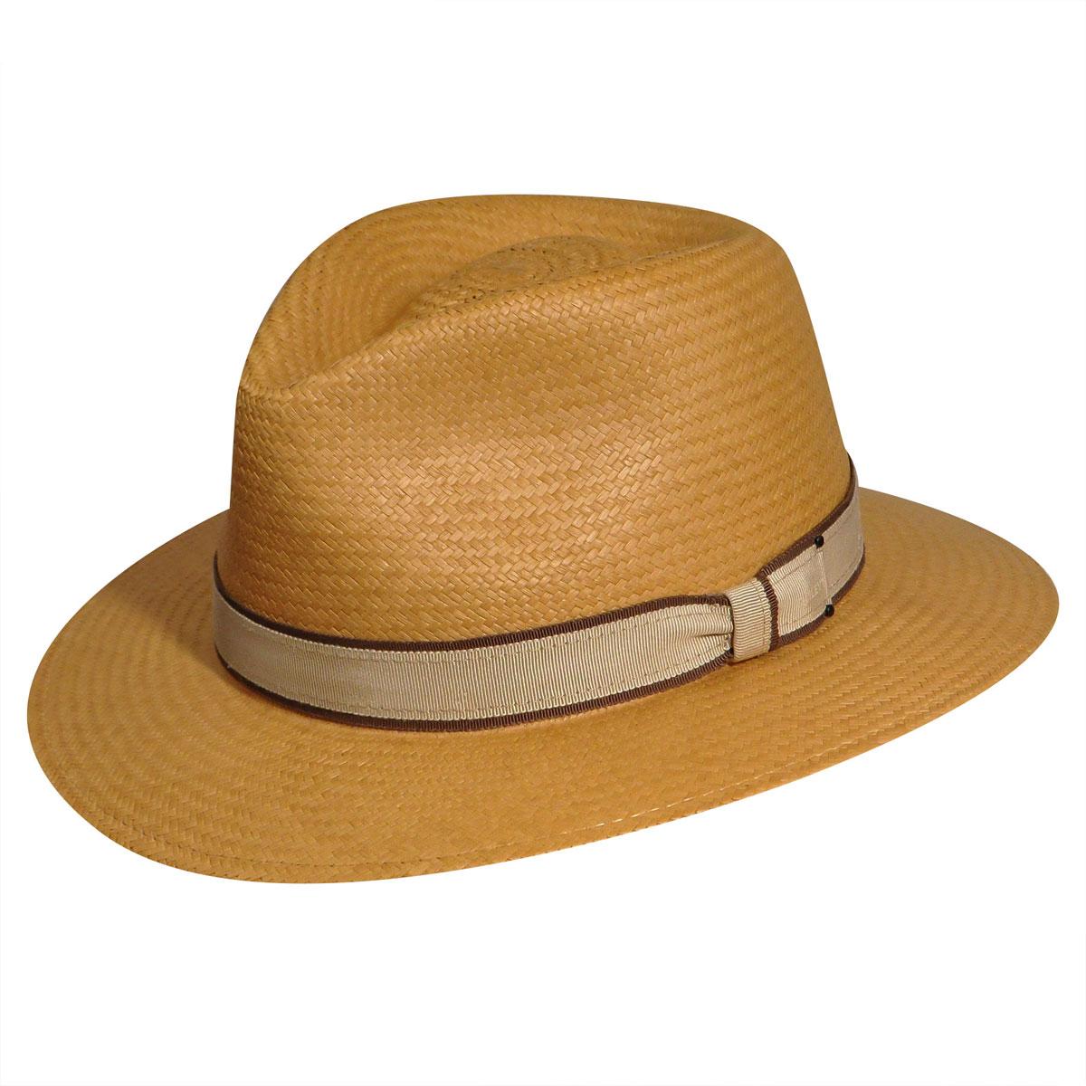 6c714988aff86 Bailey of Hollywood Brooks Panama Fedora XL 100 Straw Honey