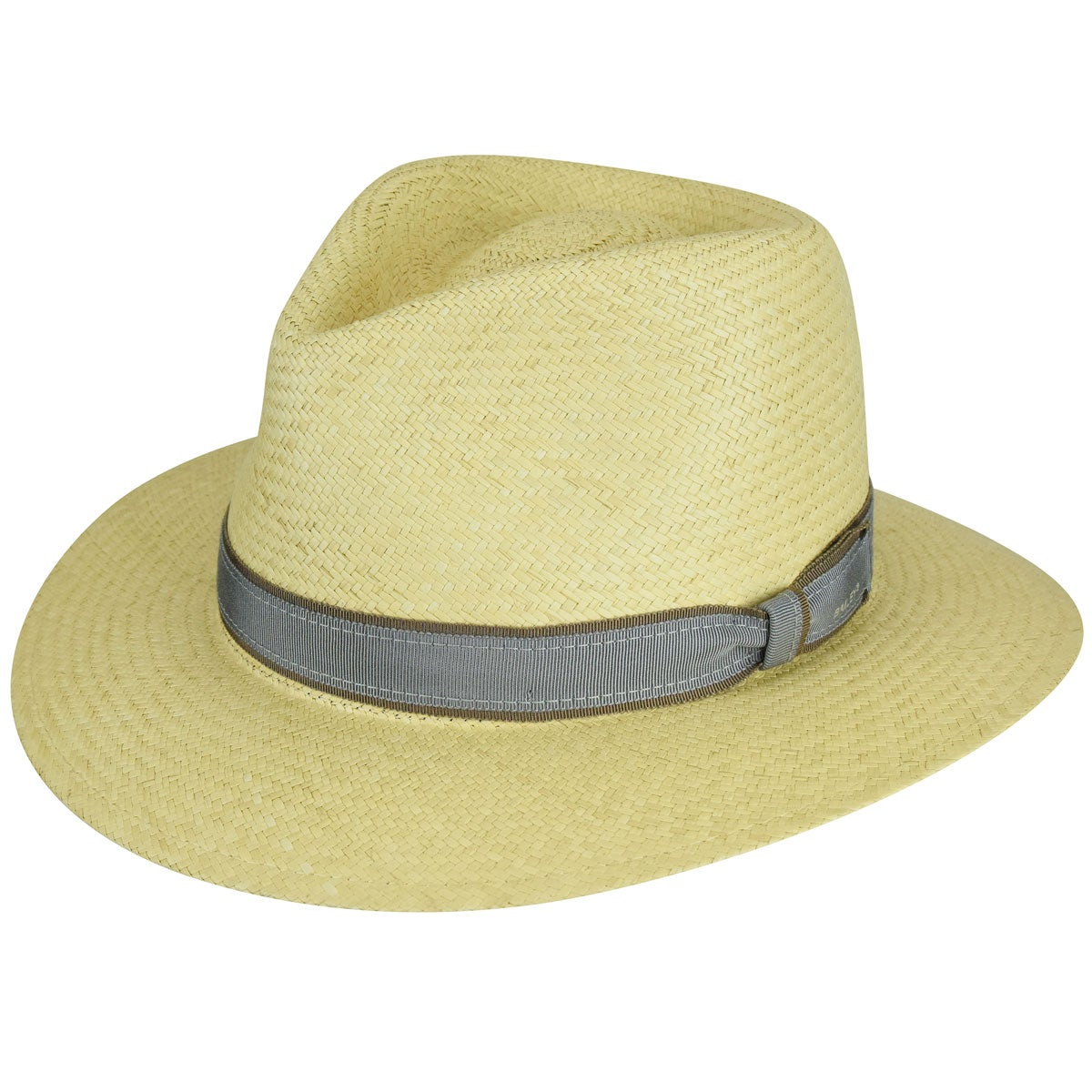 Rockabilly Men's Clothing Brooks Panama Fedora $140.00 AT vintagedancer.com