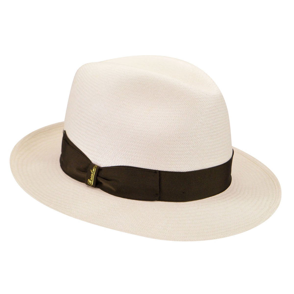 1940s Style Mens Hats 231991 Tesa Media Fine Panama Fedora $355.00 AT vintagedancer.com