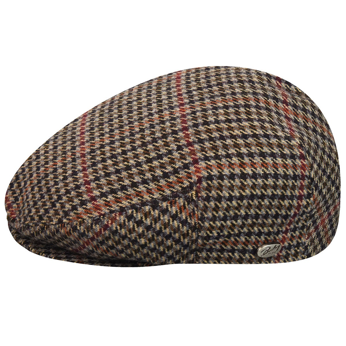 1930s Men's Fashion Guide- What Did Men Wear? Lord Plaid Ivy Cap $85.00 AT vintagedancer.com