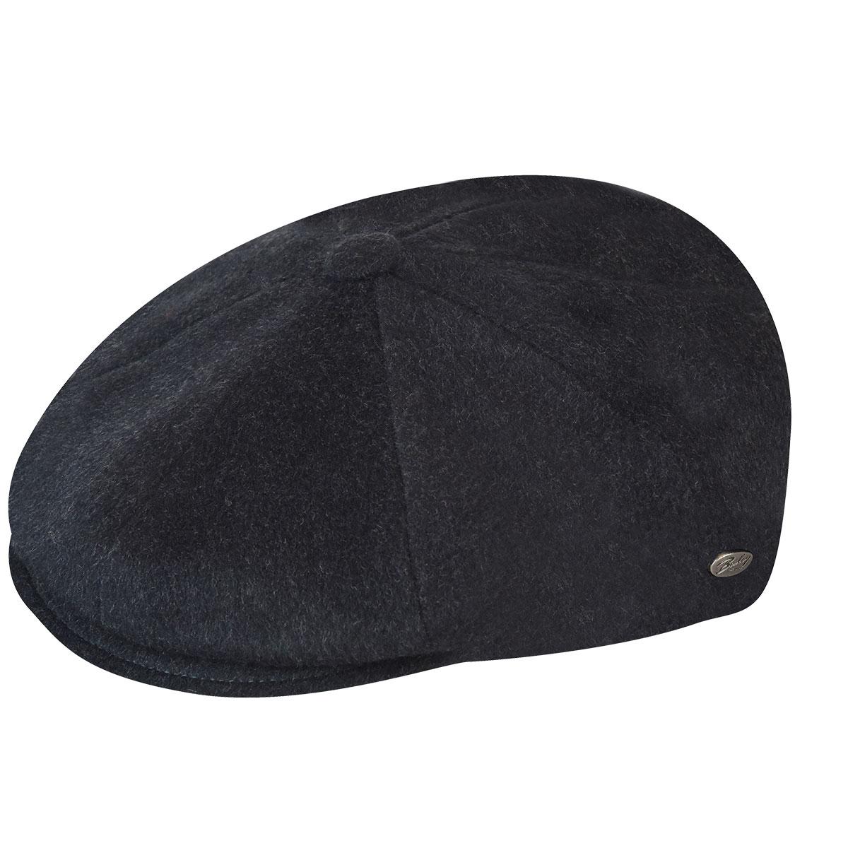 Galvin Solid Wool Cap - Grey/L