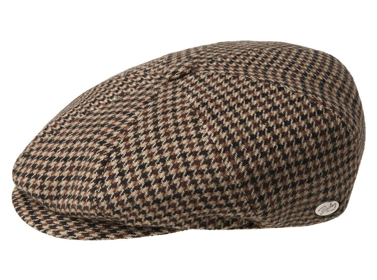 Victorian Men's Clothing, Fashion – 1840 to 1900 Galvin Plaid Ivy Cap $85.00 AT vintagedancer.com