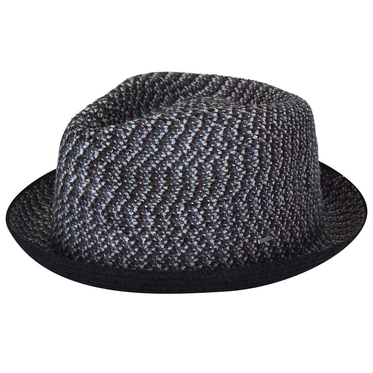Bailey of Hollywood Cain Trilby in Black Melange