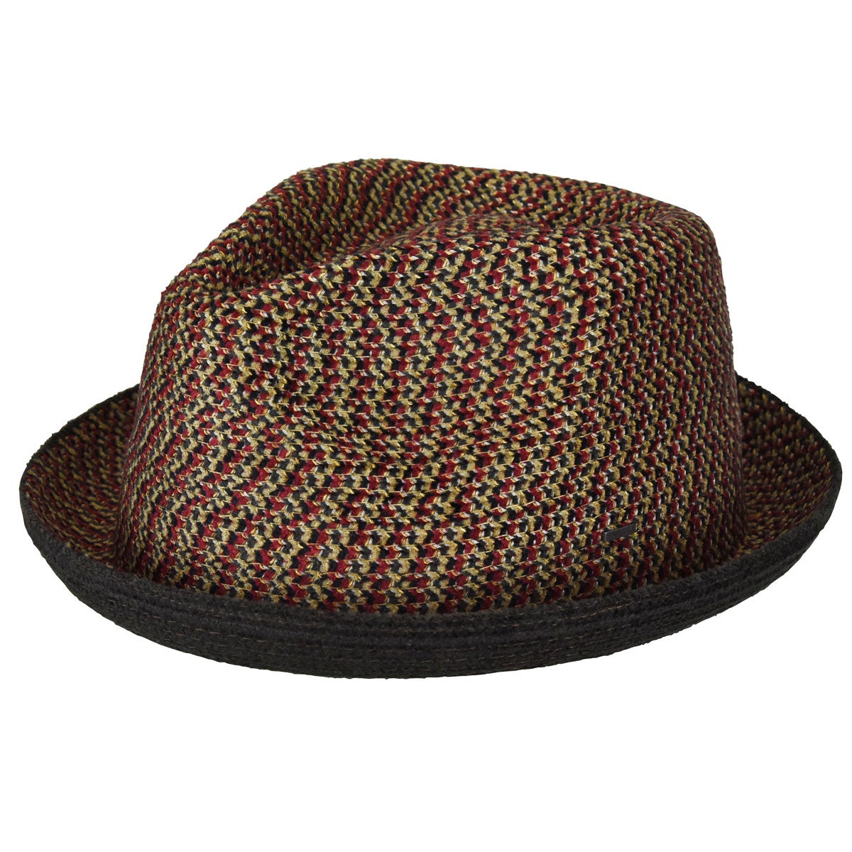 Bailey of Hollywood Cain Trilby in Brown Melange