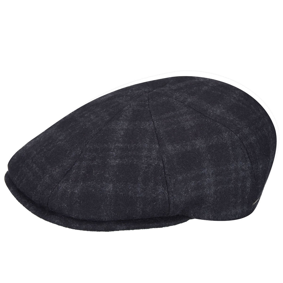 Bailey of Hollywood Cove Dockman Cap in Grey Plaid