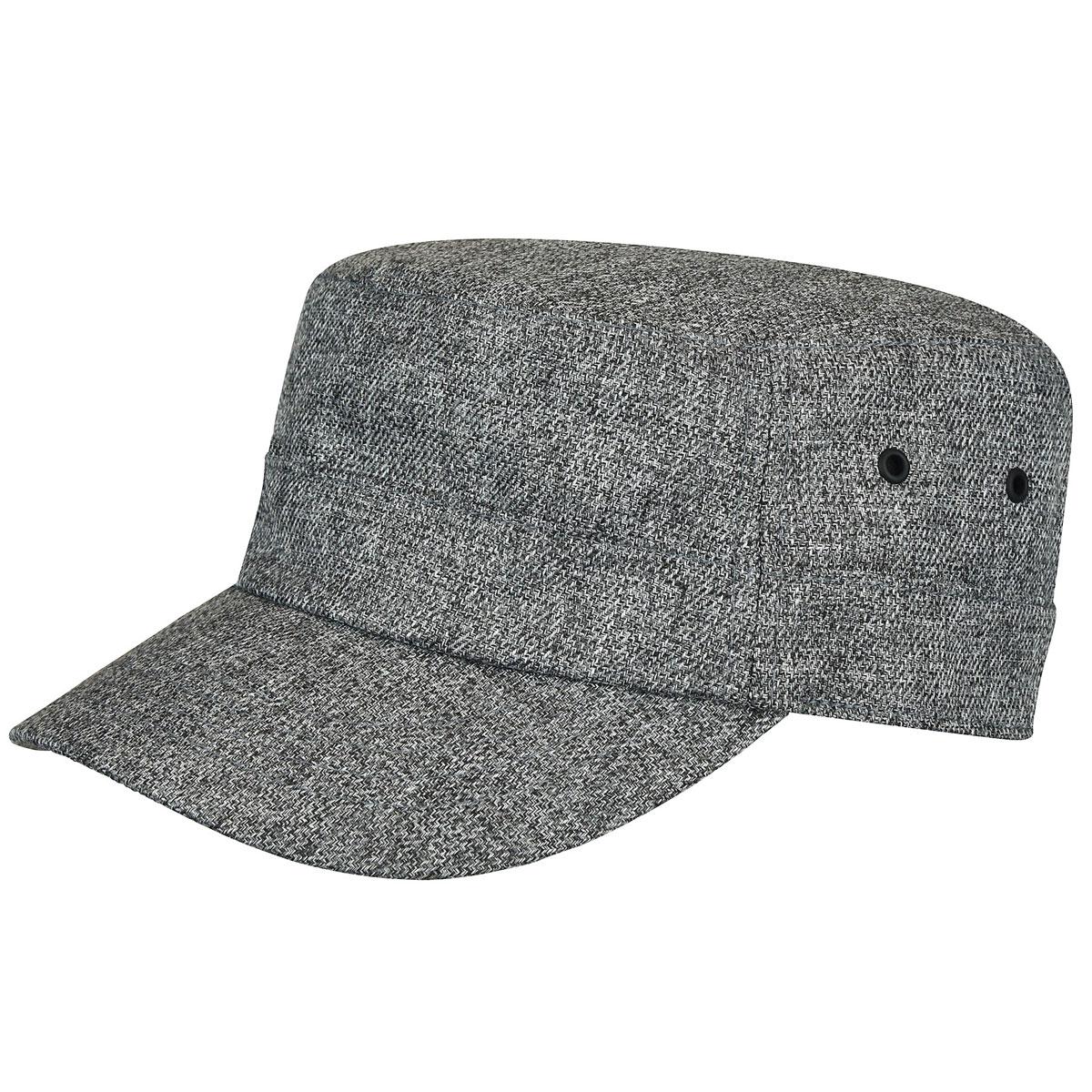 Bailey of Hollywood Sanville Army Cap in Grey