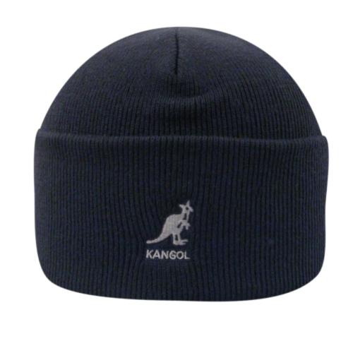Kangol Acrylic Cuff Pull-On in Dark Blue