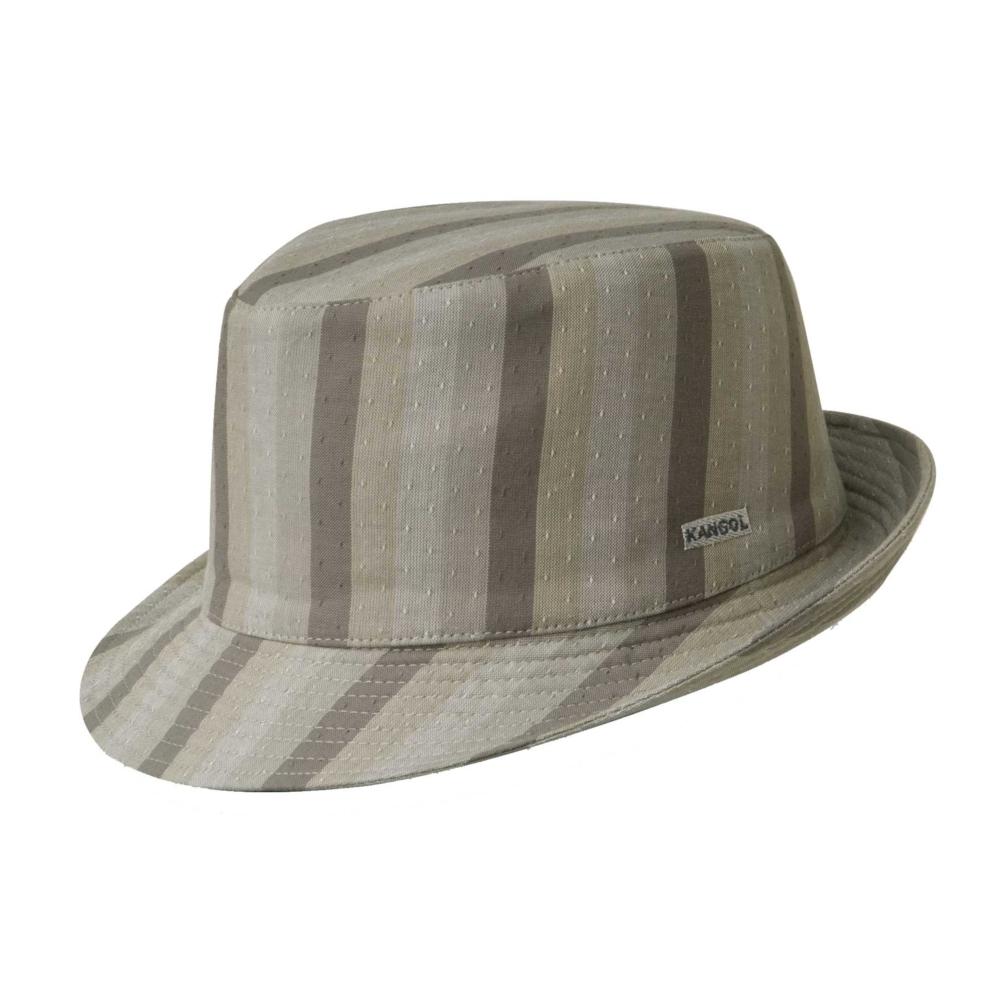 1960s – 70s Style Men's Hats Neo Check Havana Trilby $106.00 AT vintagedancer.com
