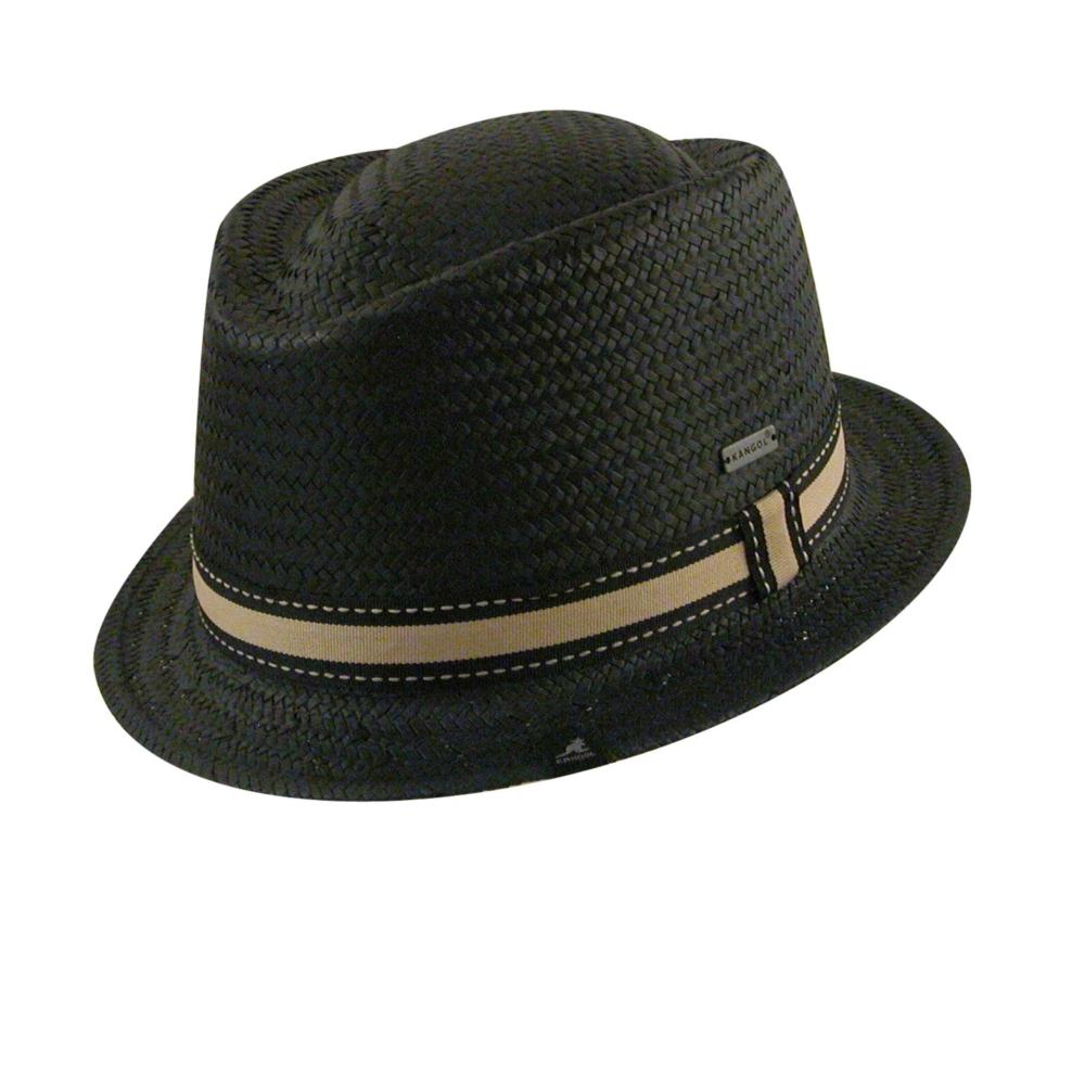 1960s – 70s Style Men's Hats 2 Tone Diamond Trilby $46.00 AT vintagedancer.com