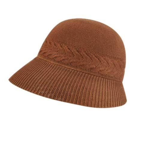 1930s Style Hats | 30s Ladies Hats Kangol Y Cable Cloche $60.00 AT vintagedancer.com