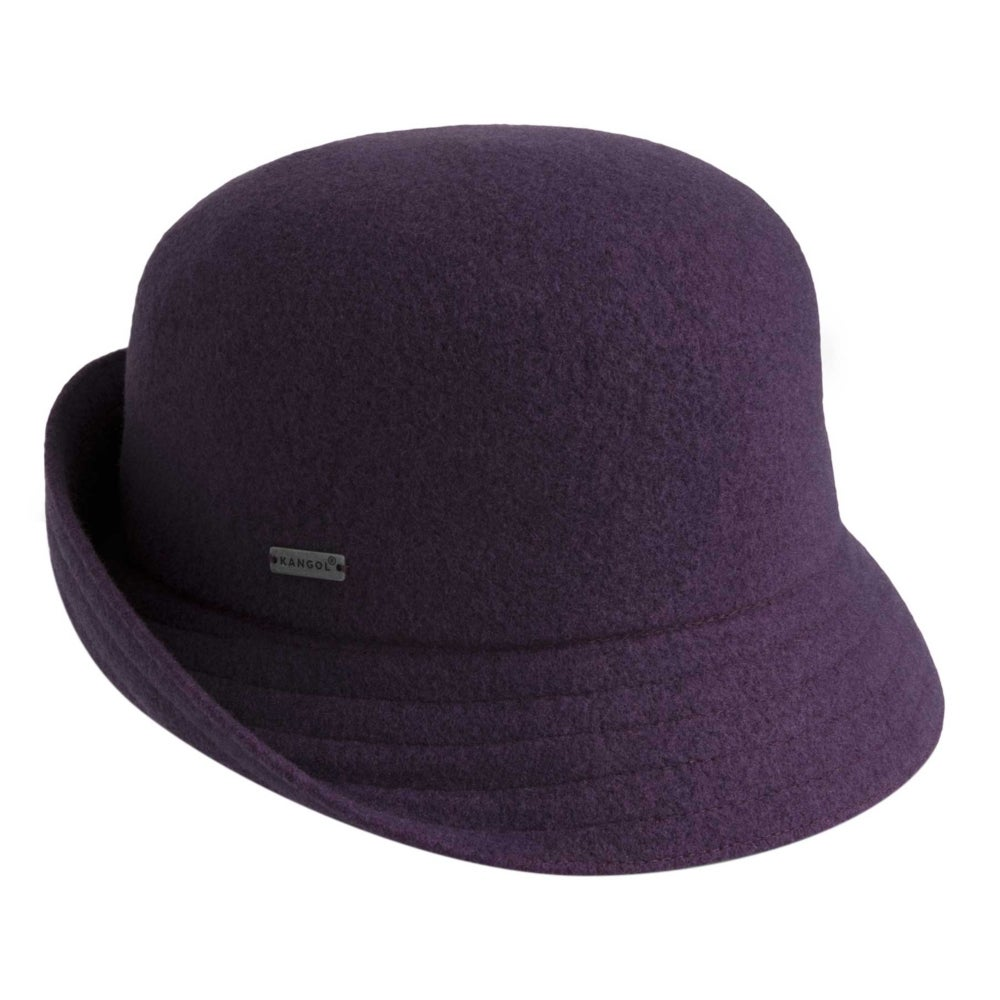 1930s Style Hats | Buy 30s Ladies Hats Kangol Female Wool Anni Cloche $80.00 AT vintagedancer.com